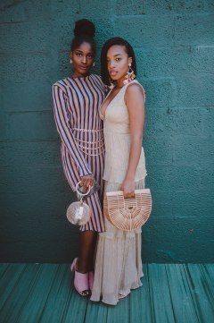 Diamond and I at the SWATCH magazine party! Photography by Lauren Amanda